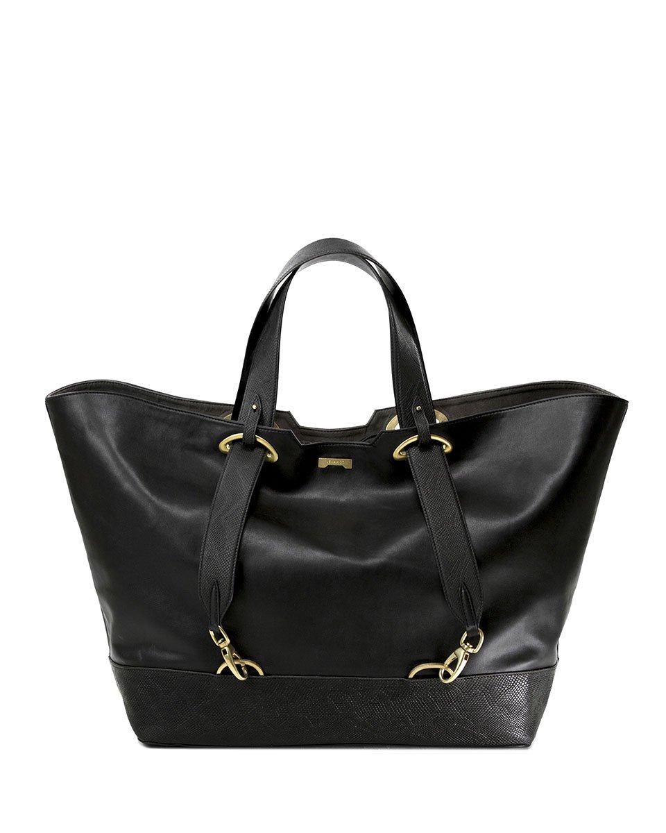 Jenah St. Backpack Shopper Python Black