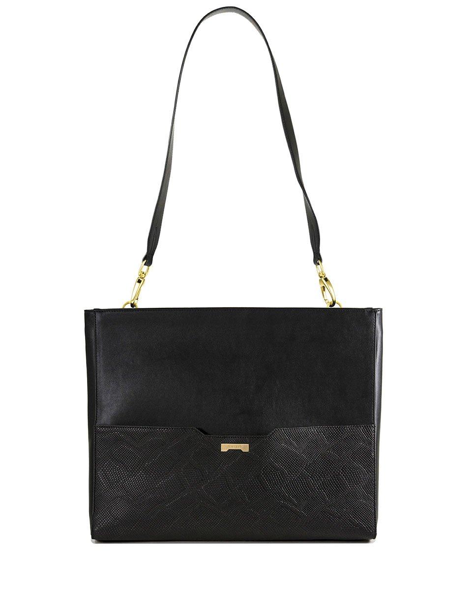 Jenah St. Laptop Bag Python Black