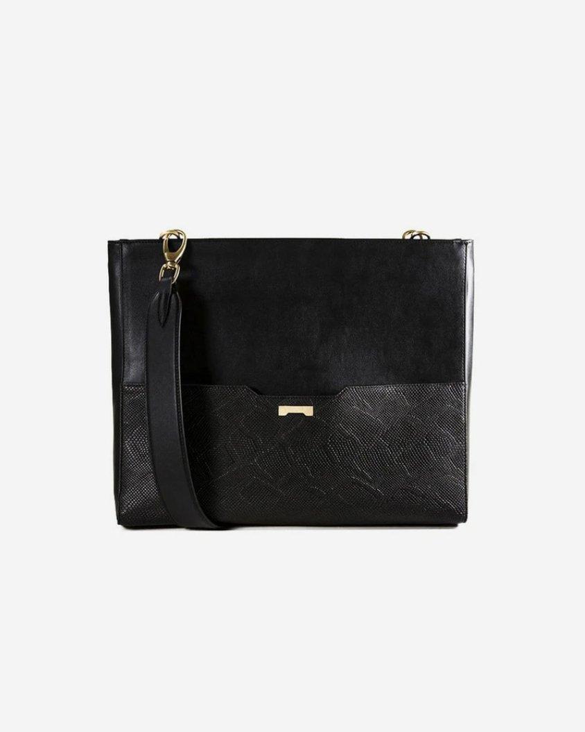 Laptop Bag Python Black