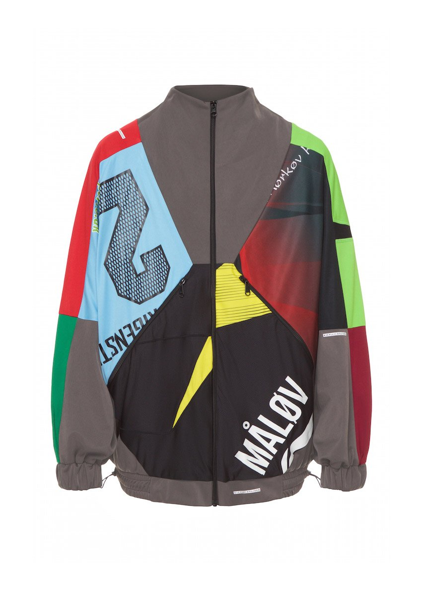 Polyester Random Color Bomber Jacket