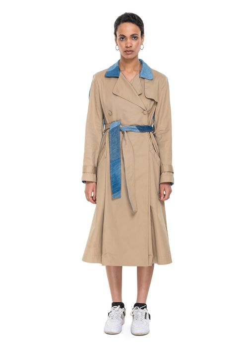 Reworked Trench Coat