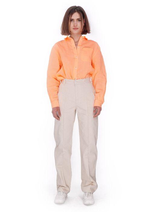 Organic Raw Cotton Trousers