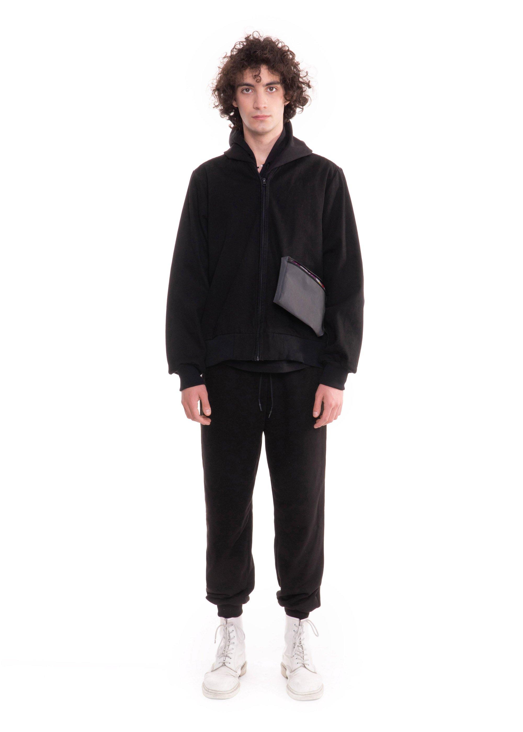 Denim Jacket With Outside Pocket