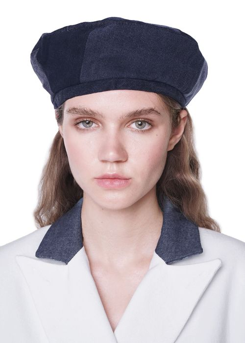 Reworked Mixed Black Beret