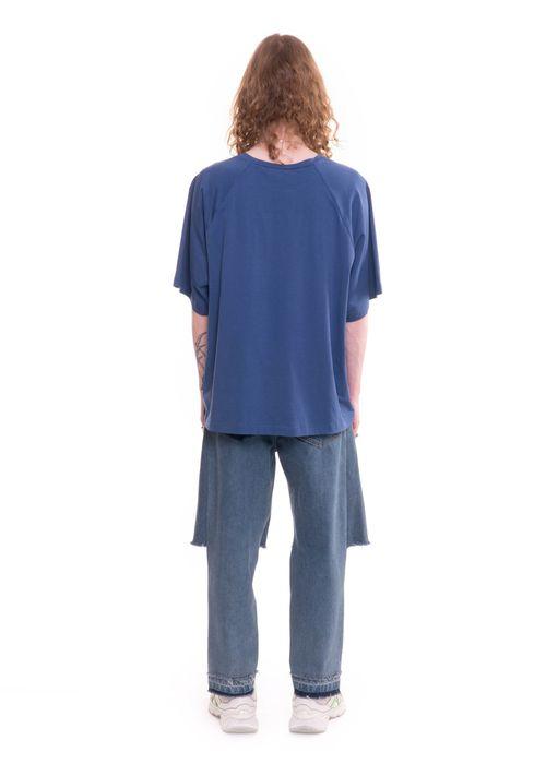 Ksenia Schnaider Vintage Blue Reworked Demi-Denims