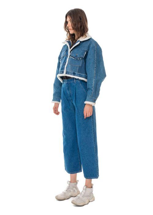 Reworked Denim Winter Jacket