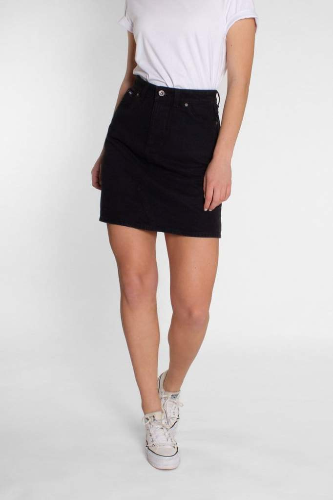 Dani Skirt Washed Black
