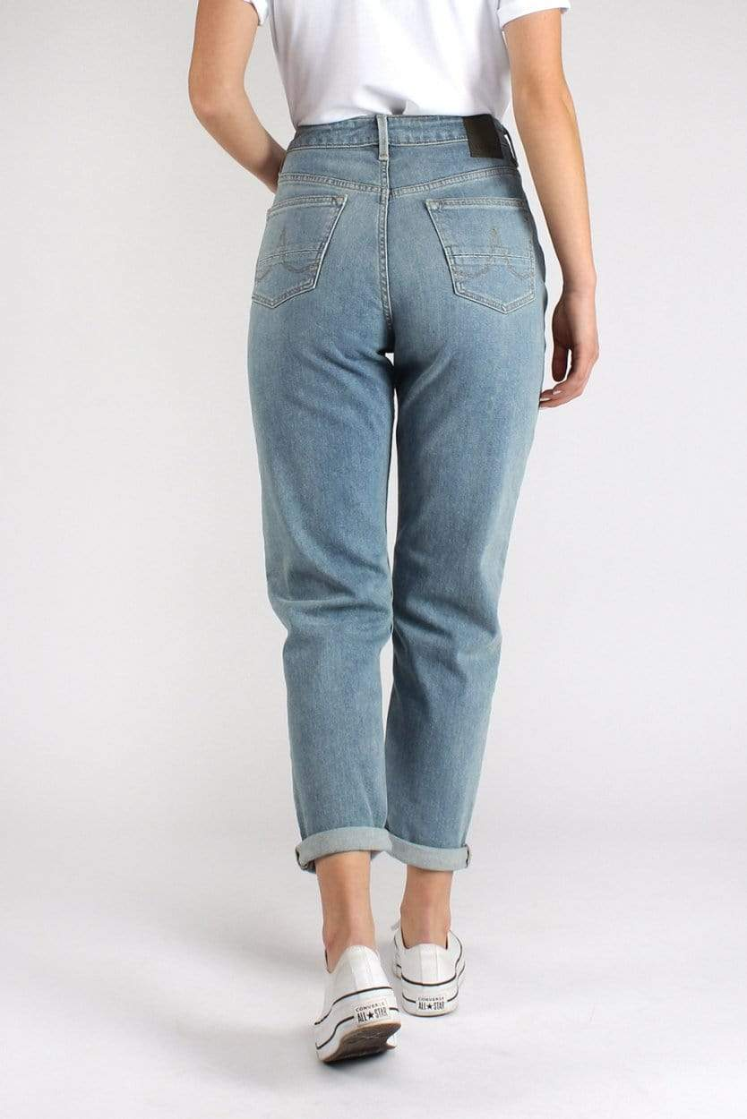 Kuyichi Nora Loose Tapered Faded Blue