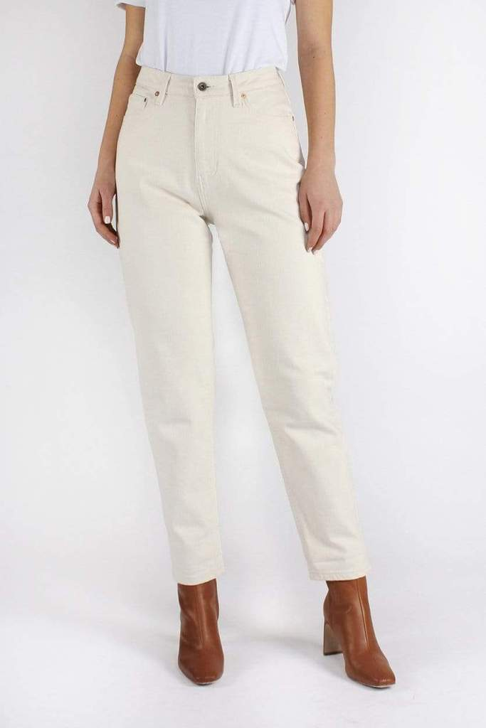 Nora Loose Tapered Undyed Off White