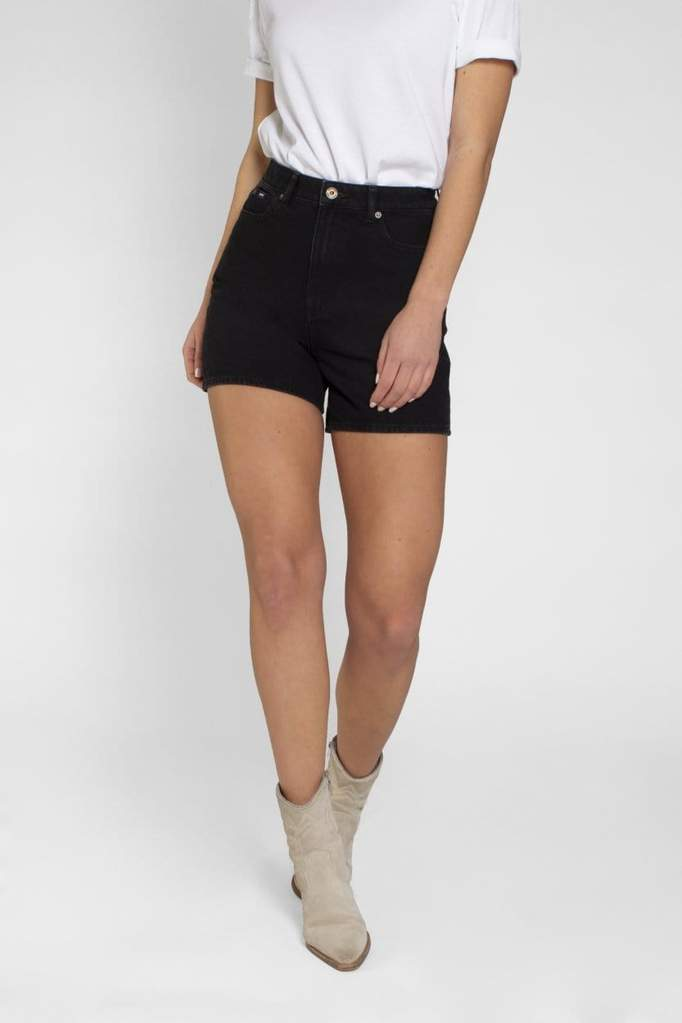 Demi Short Washed Black