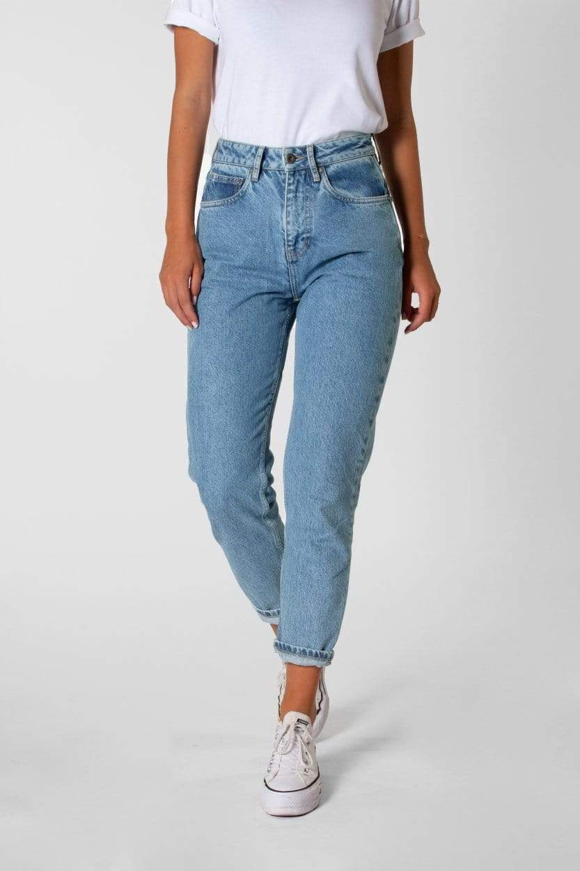 Nora Loose Tapered Heritage Blue