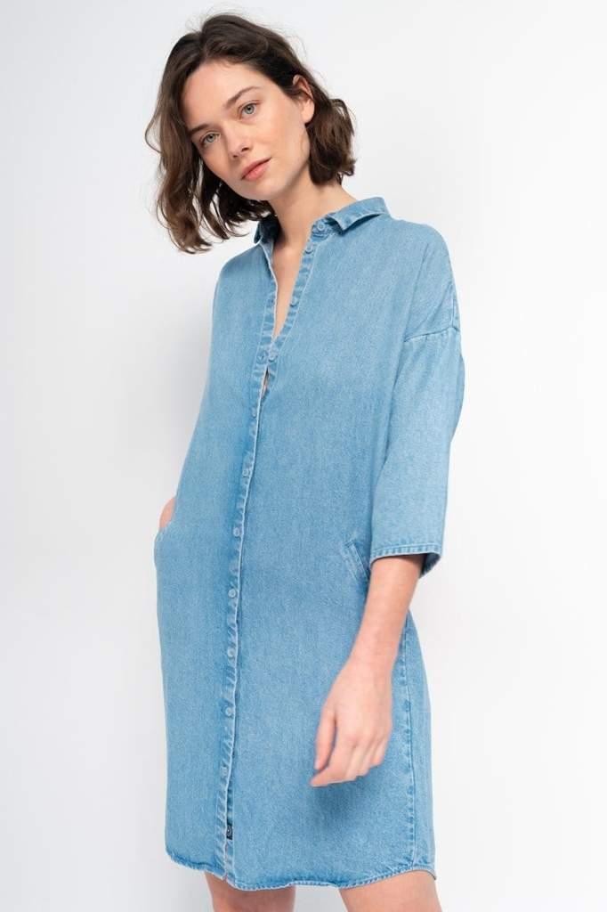 Mara Dress Light Blue