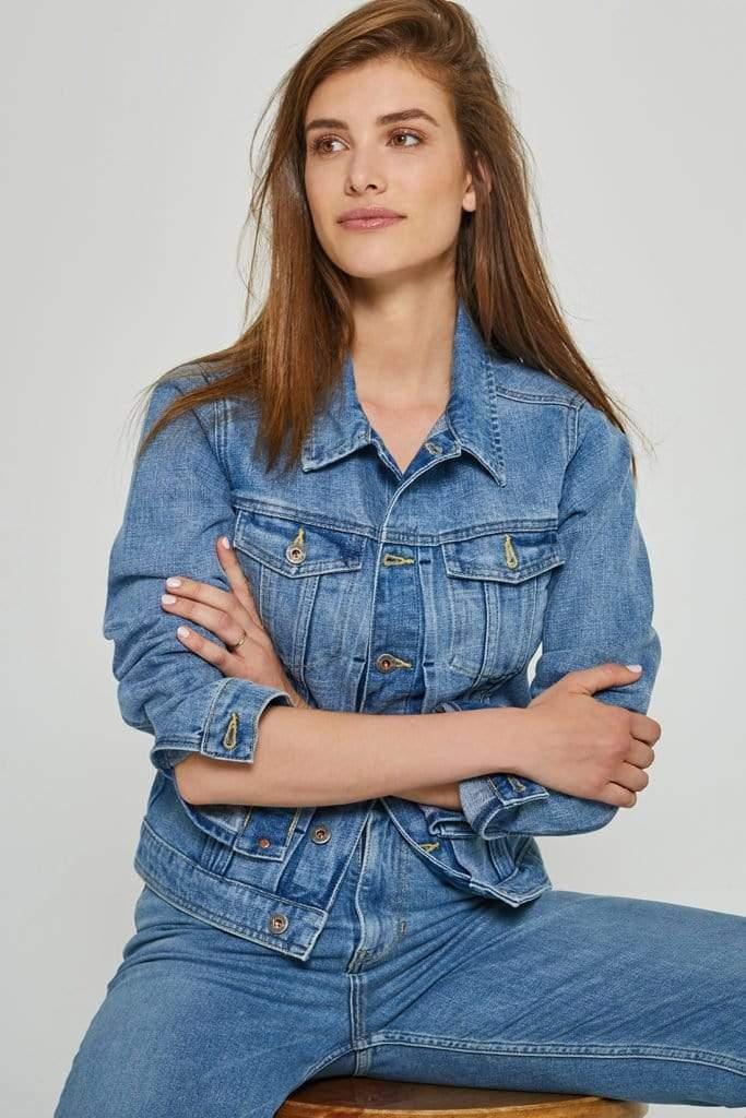 Chelsea Jacket Vintage Blue Light Blue