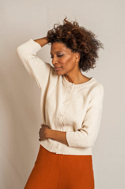 SÉRAPHINE Cotton Cardigan