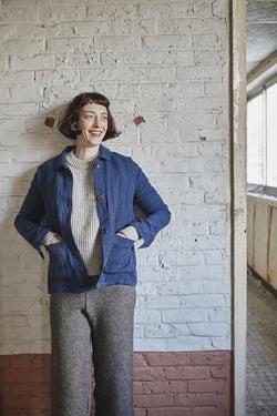 L'Envers Fashion AMÉLIE Linen Chore Jacket