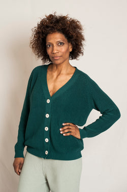 CLAUDE Cotton Cardigan