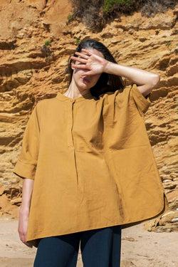 L'Envers Fashion CLARA Hemp Blouse