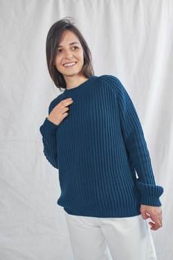 BRIGITTE Cotton Sweater