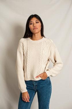 PAOLA Cotton Sweater