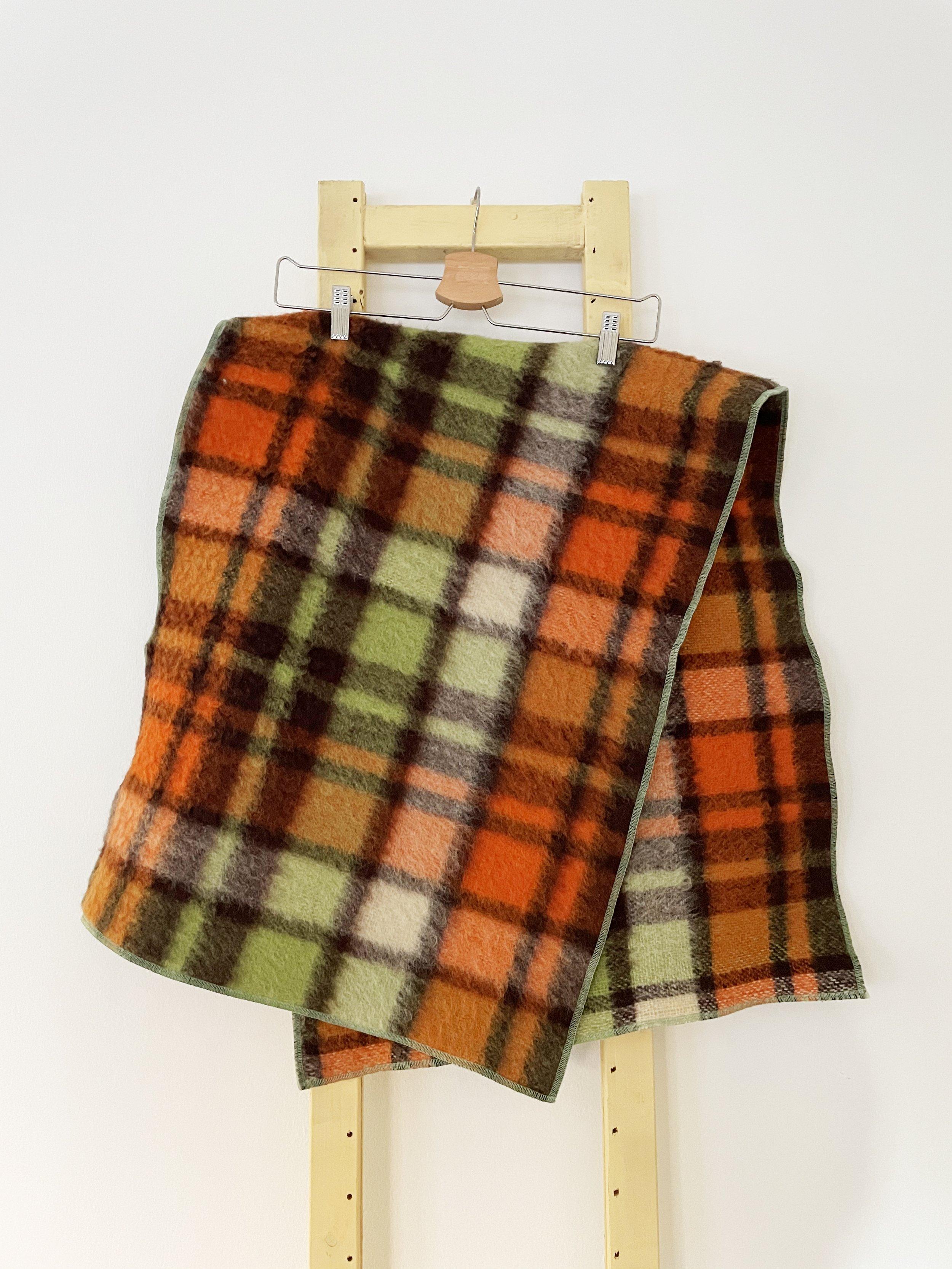 Alberta Upcycled Wool Shawl