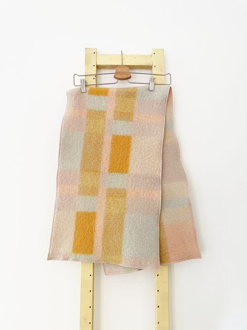 Flora Upcycled Wool Shawl