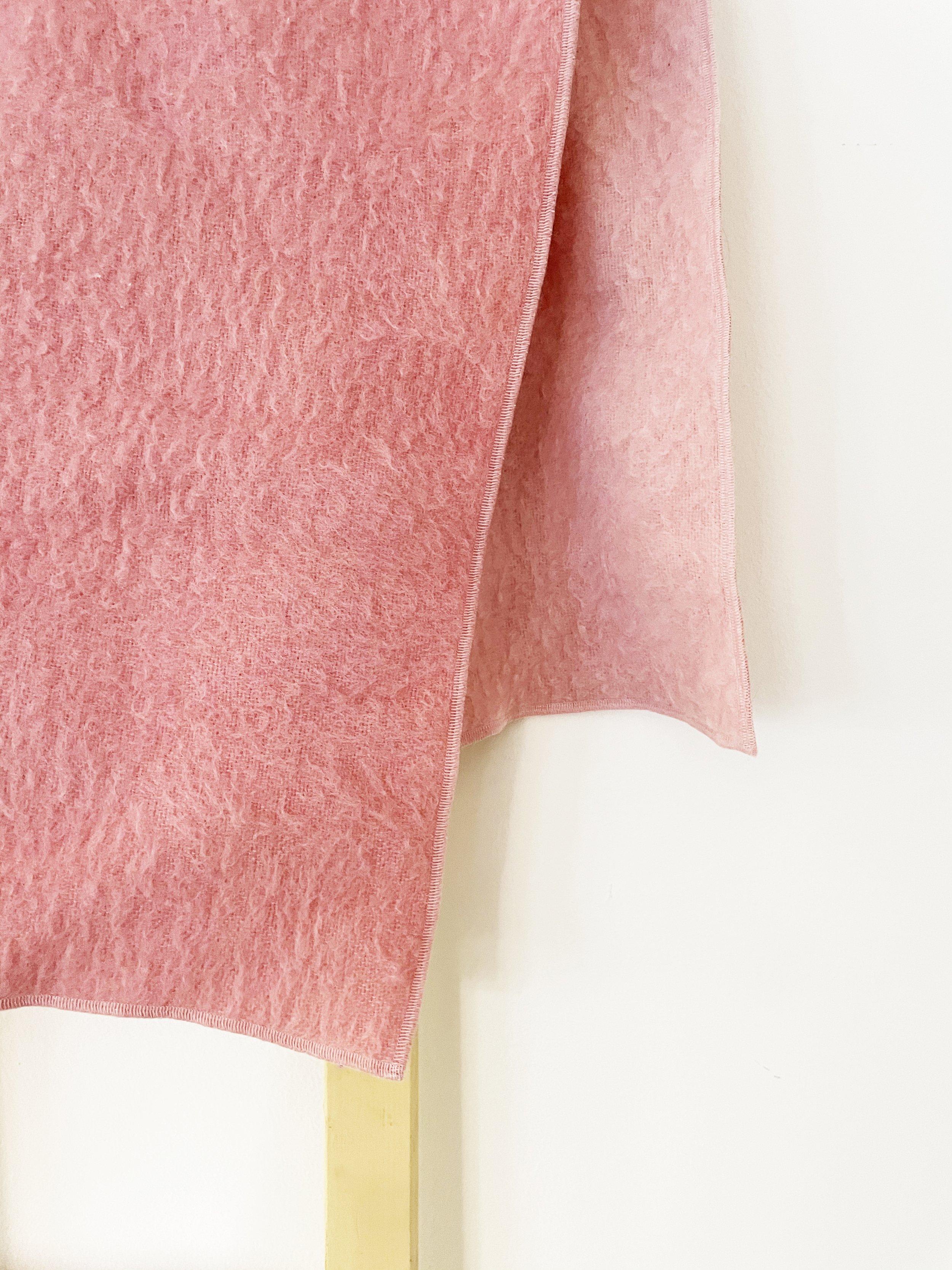 Rose Upcycled Wool Shawl