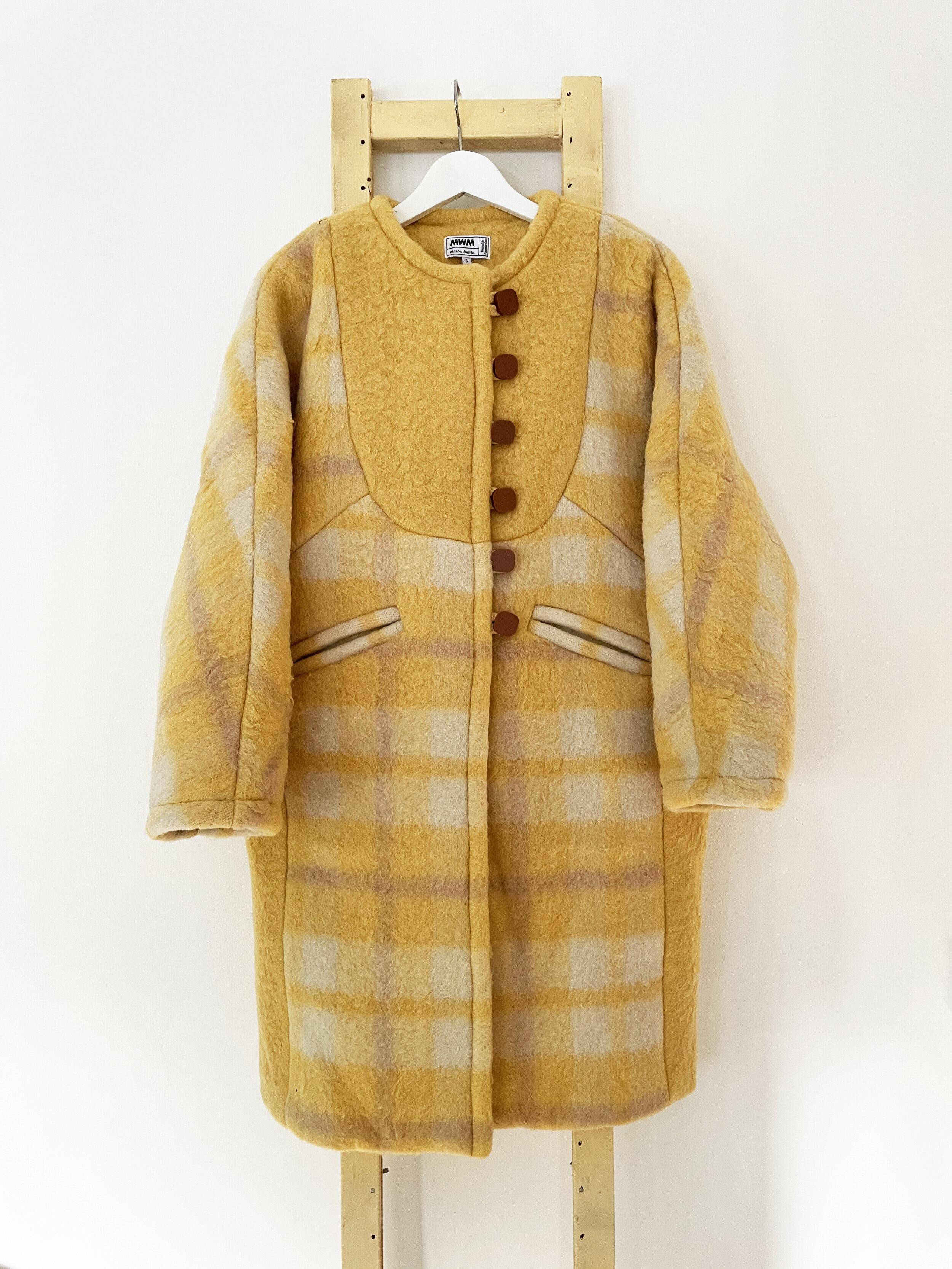 Amber Long Wool Coat