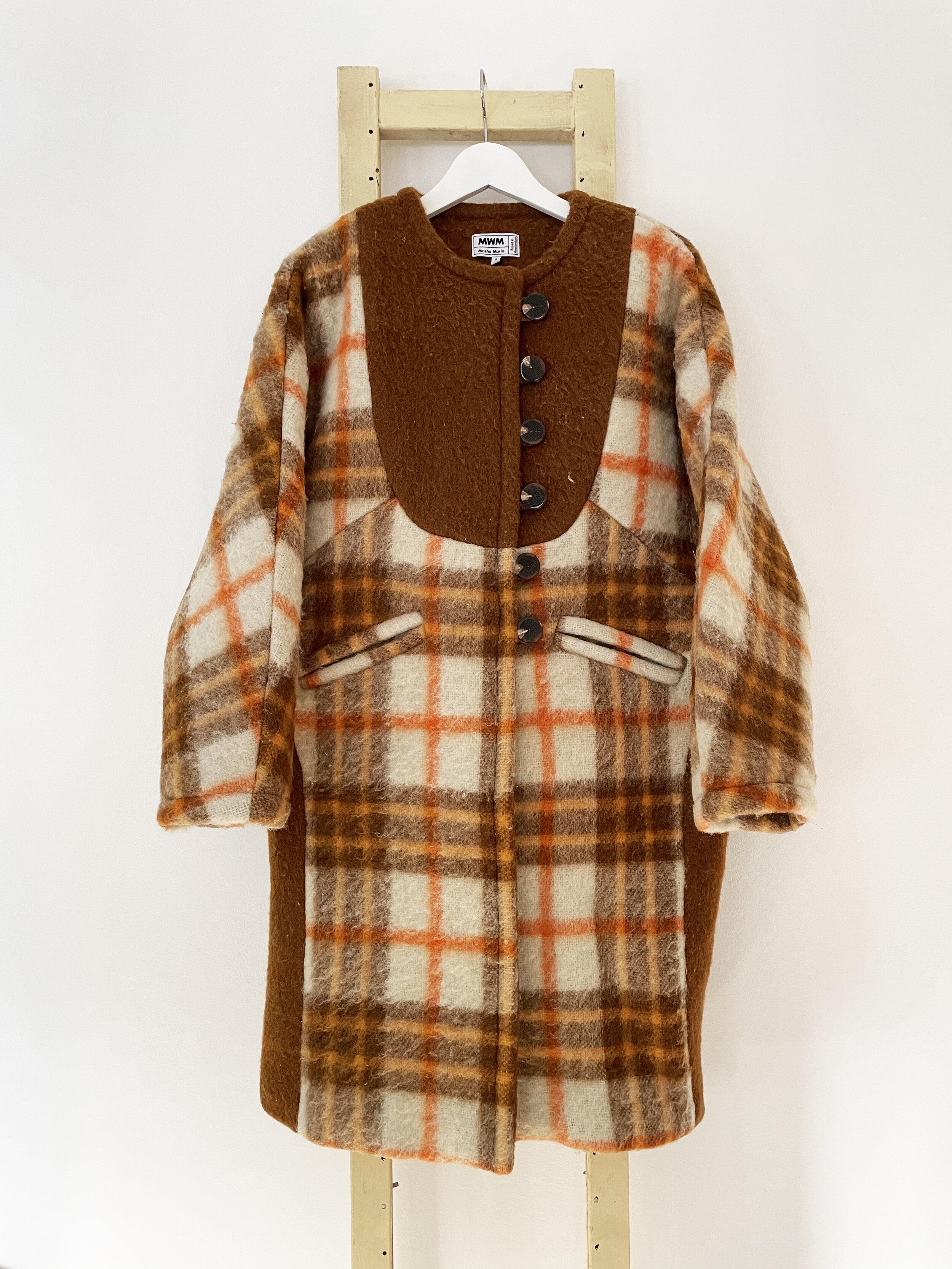 Estelle Long Wool Coat