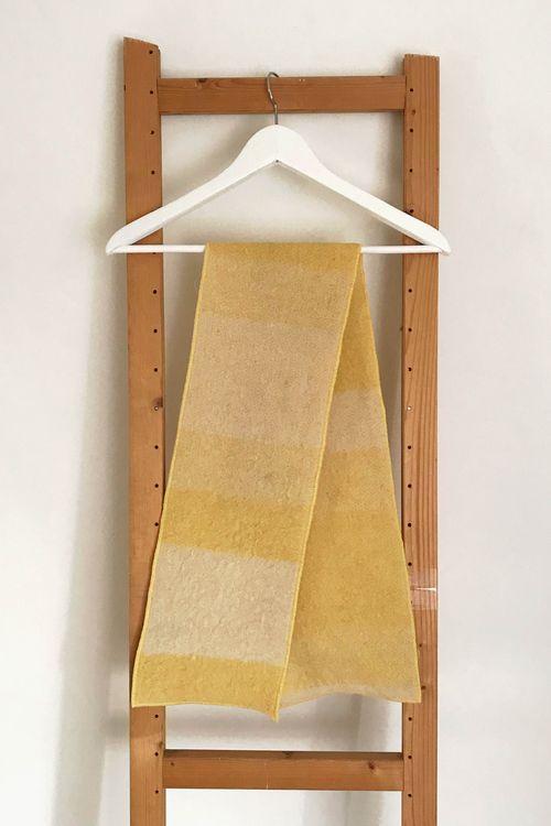 Amber Sophia Upcycled Wool Scarf