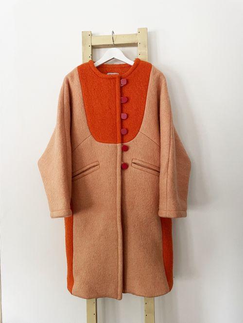 Perla Long Wool Coat