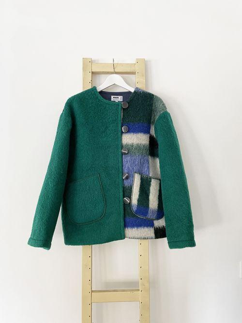 Blanche Wool Coat
