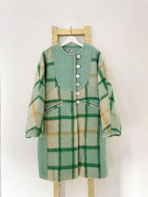 Astrid Long Wool Coat