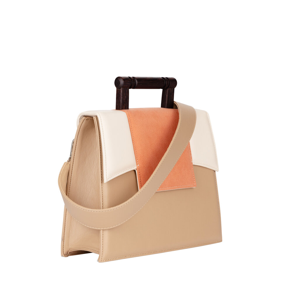Daphne Peach Handbag