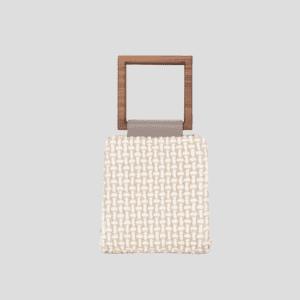 Amaryllis Fluffy White Handbag