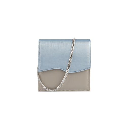 Hera Mushroom Blue Belt and Evening Bag