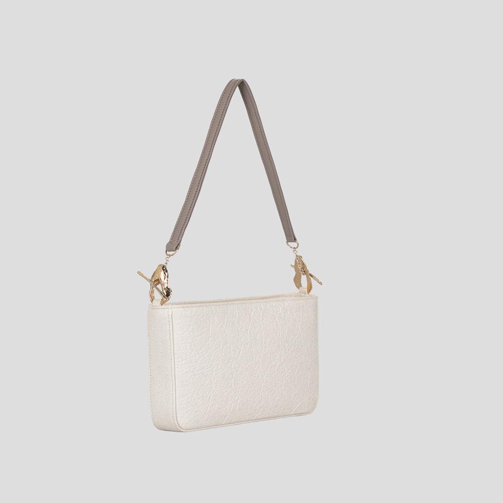 Philippa Pearl White Handbag