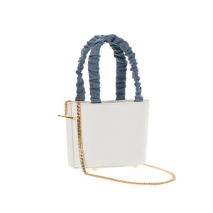 Sophia white Sustainable Handbag