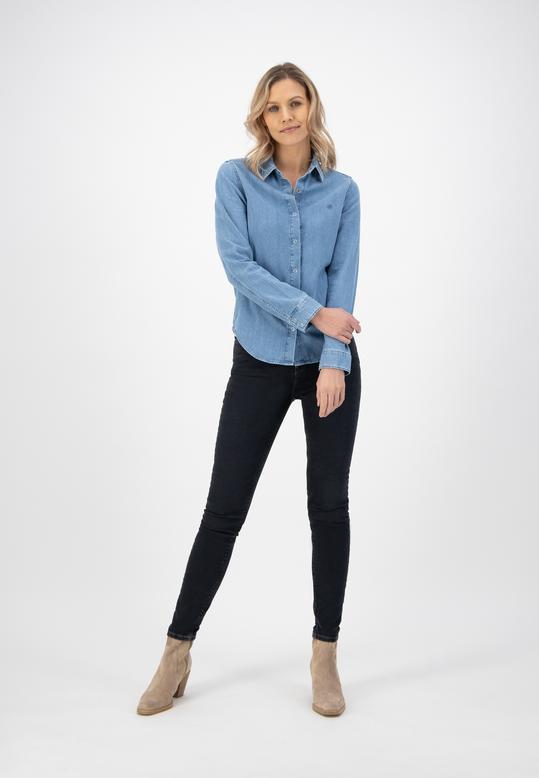 Betty Denim Shirt - Stone Blue