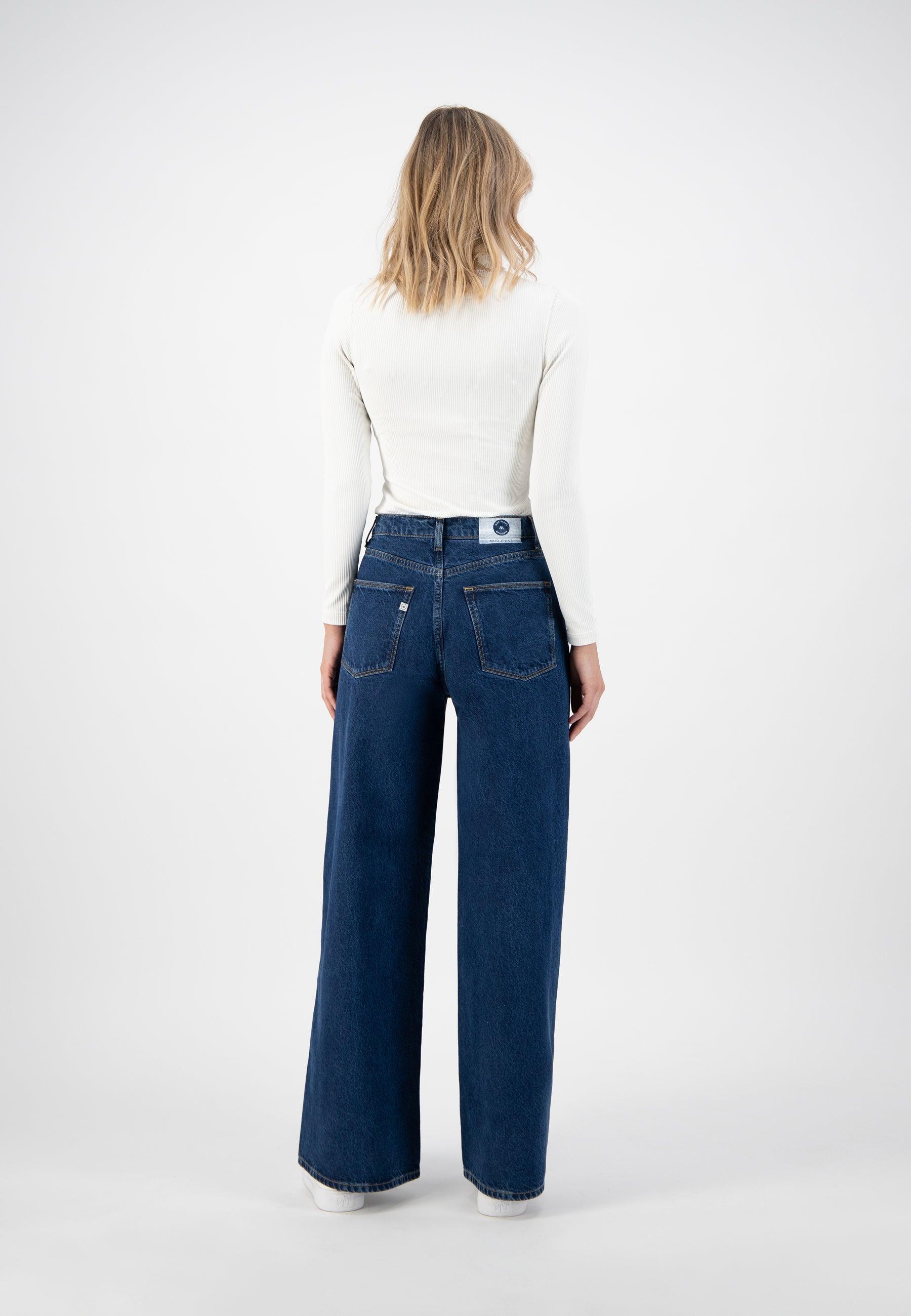 Mud Jeans Wyde Sara - Stone Indigo