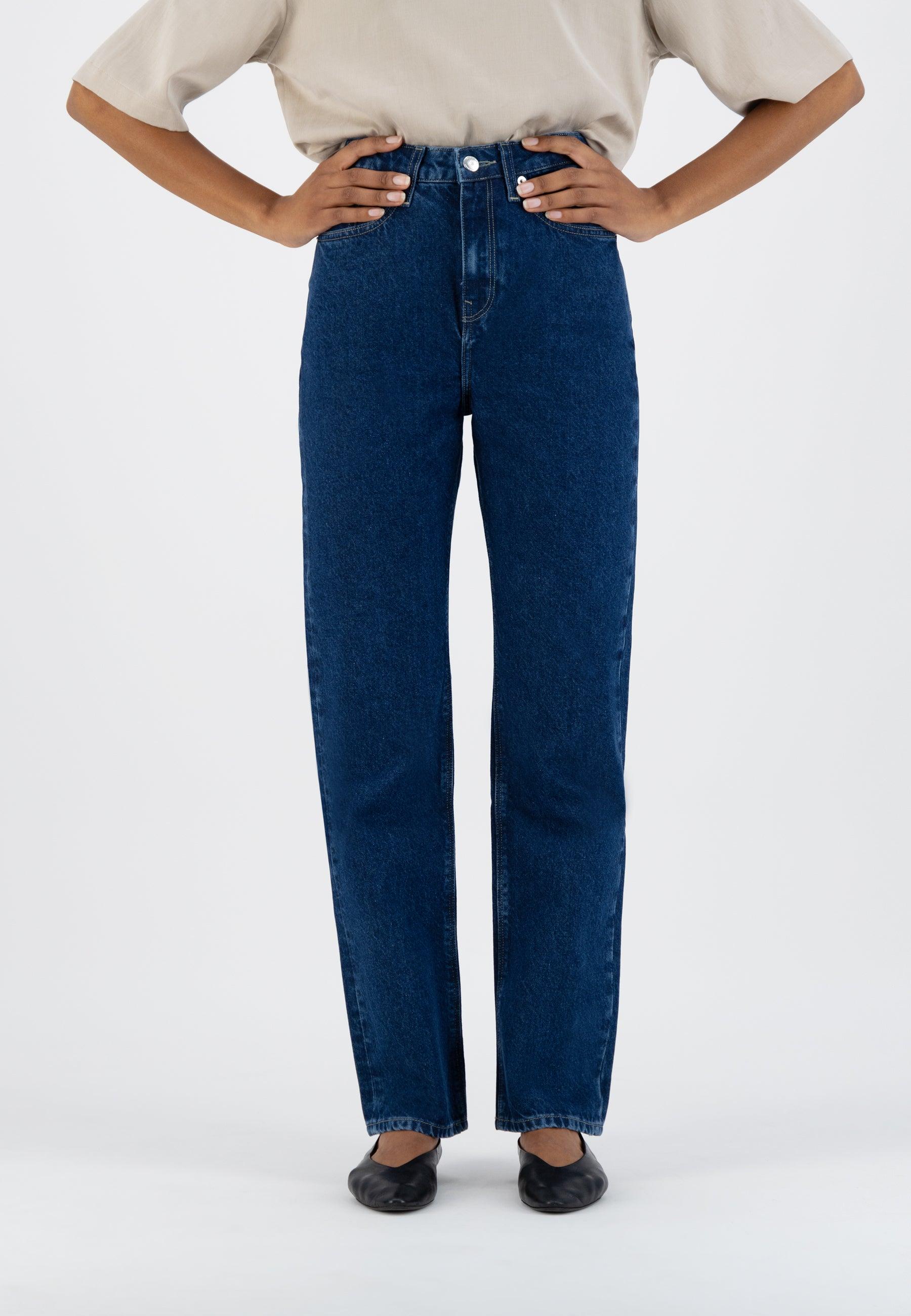 Mud Jeans Relax Rose - Stone Indigo