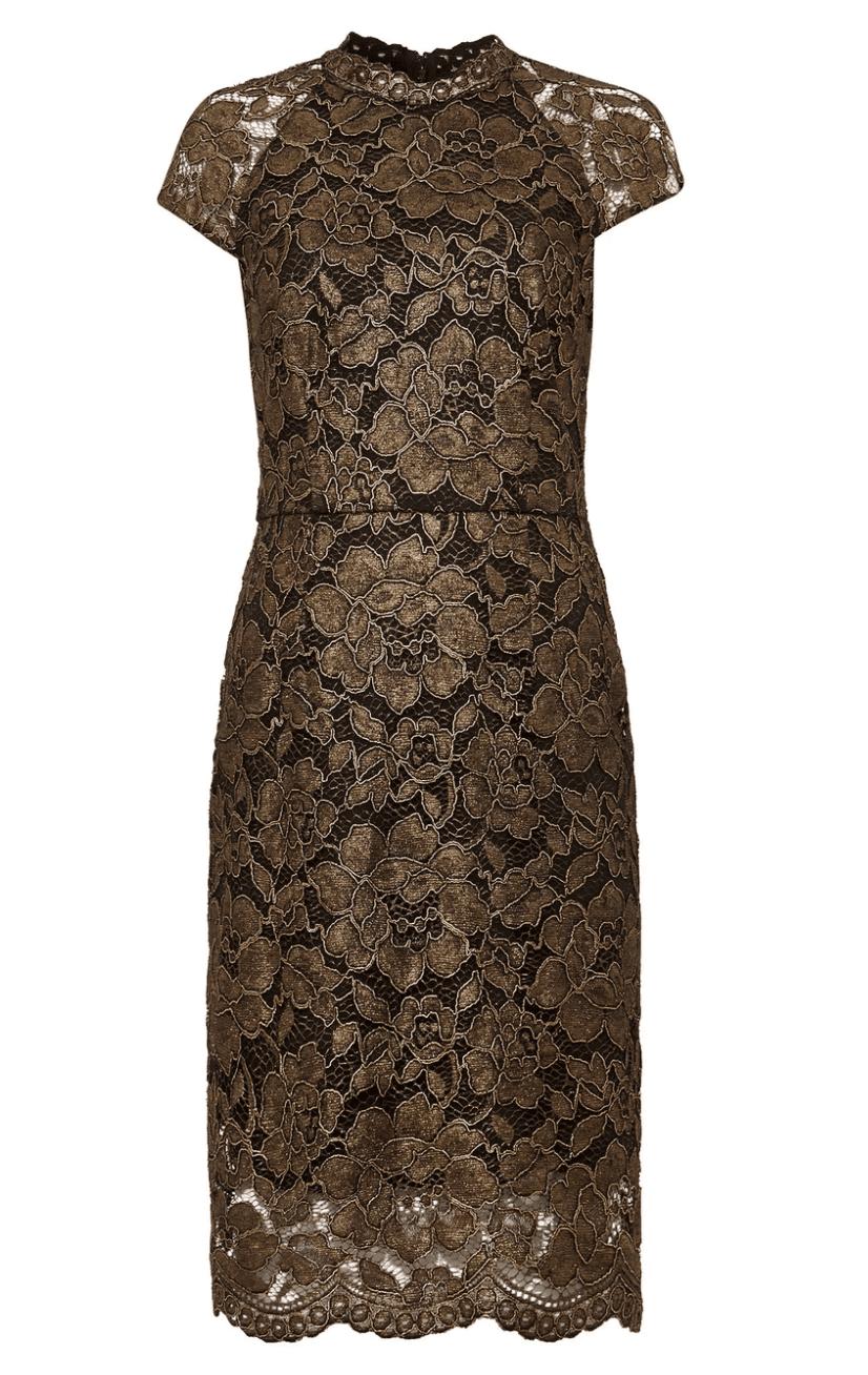 Janie metallic dress