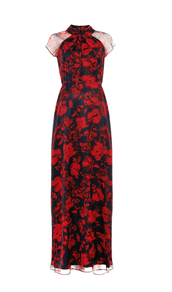 Frederica floral dress