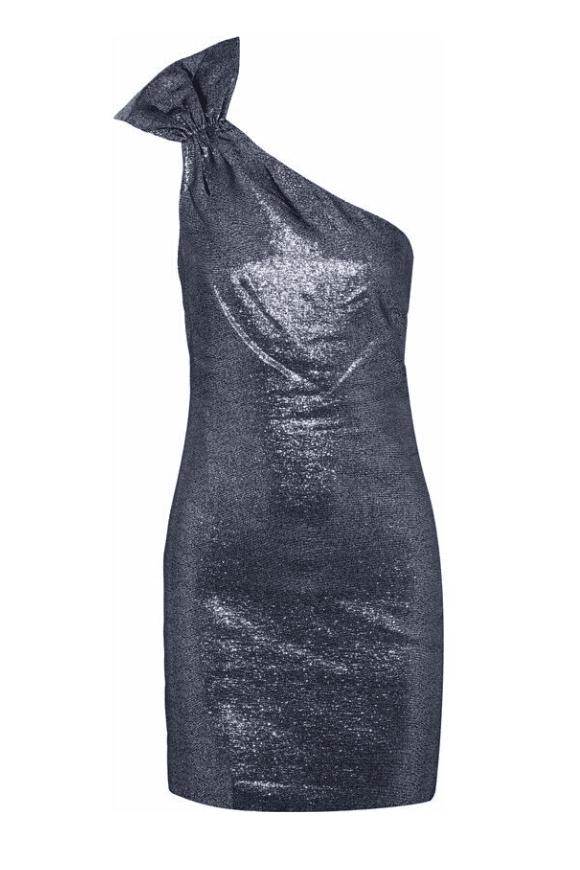 Glamorous one shoulder dress