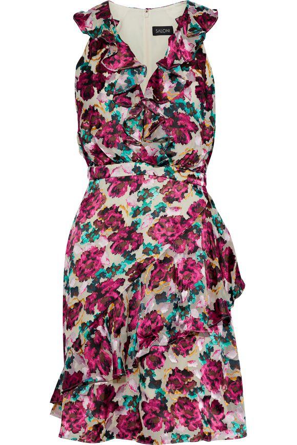 Rita floral print dress