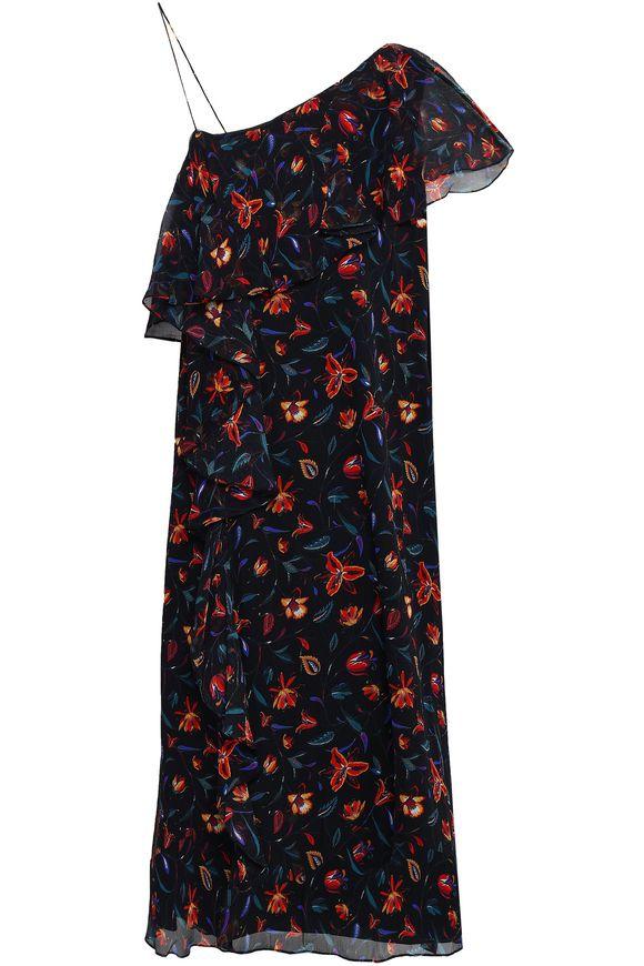 Perla one shoulder dress