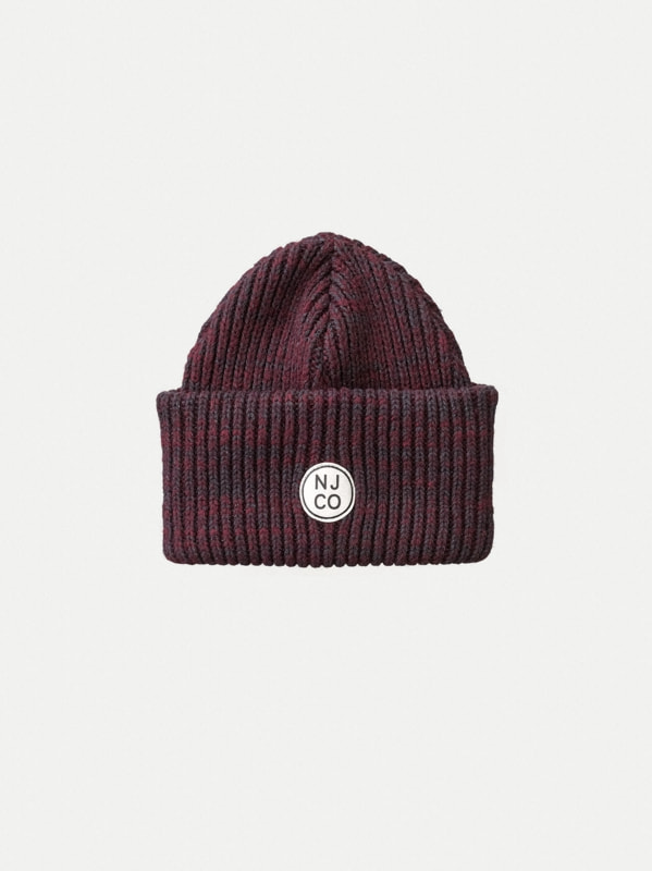 Nudie Jeans Edisson Beanie Fig Hats One Size