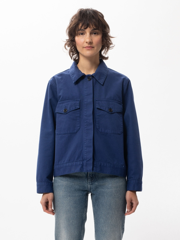 Nudie Jeans Wilma Blue Touch Denim Jackets Small