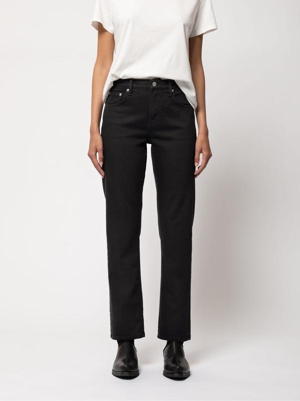 Nudie Jeans Straight Sally Everblack Jeans W24/L26
