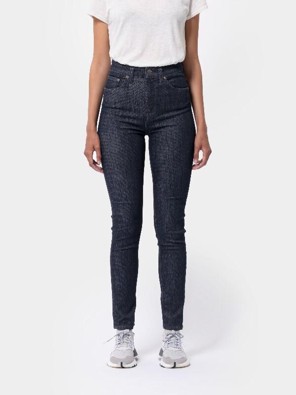 Nudie Jeans Hightop Tilde Dark Navy Jeans W33/L34