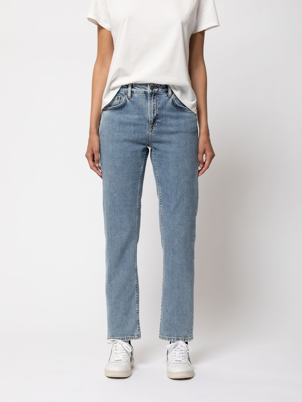 Nudie Jeans Straight Sally Worn In Stone Jeans W27/L26